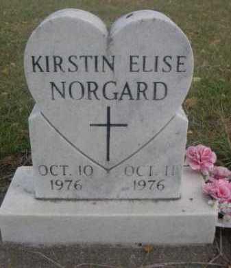 NORGARD, KIRSTIN ELISE - Dawes County, Nebraska   KIRSTIN ELISE NORGARD - Nebraska Gravestone Photos