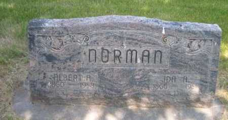 NORMAN, IDA A. - Dawes County, Nebraska   IDA A. NORMAN - Nebraska Gravestone Photos