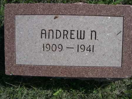 NORMAN, ANDREW N. - Dawes County, Nebraska | ANDREW N. NORMAN - Nebraska Gravestone Photos