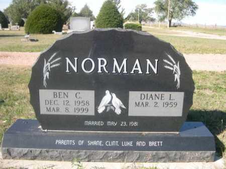 NORMAN, BEN C. - Dawes County, Nebraska   BEN C. NORMAN - Nebraska Gravestone Photos
