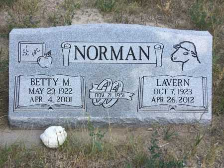 NORMAN, BETTY M. - Dawes County, Nebraska | BETTY M. NORMAN - Nebraska Gravestone Photos