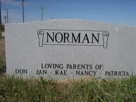 NORMAN, BETTY M. - Dawes County, Nebraska   BETTY M. NORMAN - Nebraska Gravestone Photos