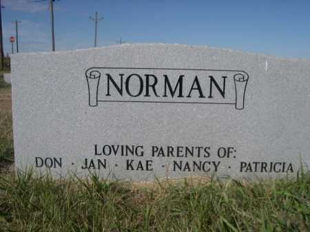 NORMAN, BETTY M. - Dawes County, Nebraska | BETTY M. NORMAN - Nebraska Gravestone Photos