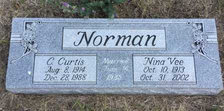 NORMAN, NINA VEE - Dawes County, Nebraska | NINA VEE NORMAN - Nebraska Gravestone Photos