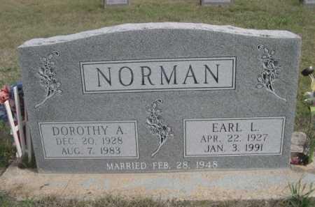 NORMAN, EARL L. - Dawes County, Nebraska | EARL L. NORMAN - Nebraska Gravestone Photos