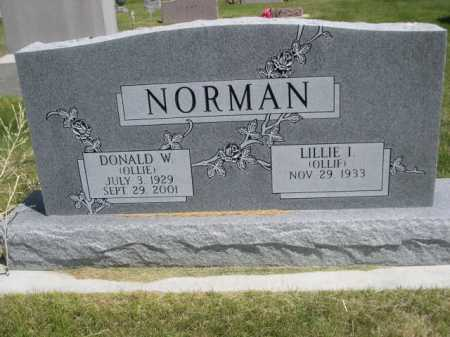 NORMAN, LILLIE I. - Dawes County, Nebraska | LILLIE I. NORMAN - Nebraska Gravestone Photos