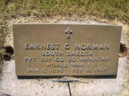 NORMAN, EARNEST G. - Dawes County, Nebraska | EARNEST G. NORMAN - Nebraska Gravestone Photos