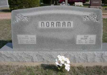 "NORMAN, BERNARD ""BEN"" - Dawes County, Nebraska | BERNARD ""BEN"" NORMAN - Nebraska Gravestone Photos"