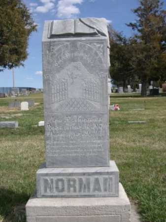 NORMAN, IRA F. - Dawes County, Nebraska | IRA F. NORMAN - Nebraska Gravestone Photos