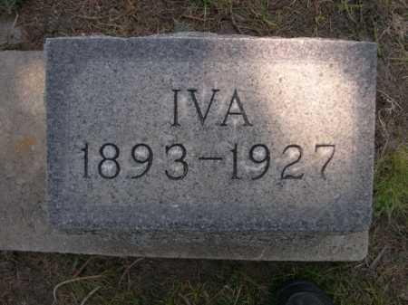 NORMAN, IVA - Dawes County, Nebraska | IVA NORMAN - Nebraska Gravestone Photos