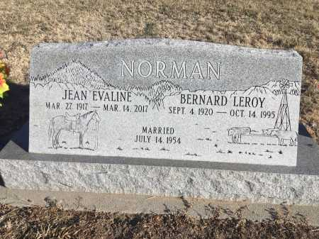 NORMAN, BERNARD LEROY - Dawes County, Nebraska | BERNARD LEROY NORMAN - Nebraska Gravestone Photos
