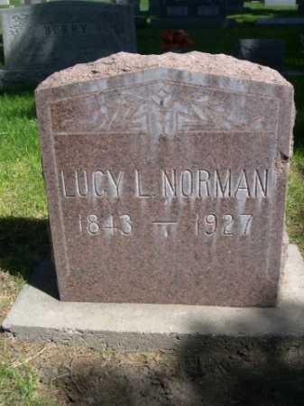 NORMAN, LUCY L. - Dawes County, Nebraska   LUCY L. NORMAN - Nebraska Gravestone Photos