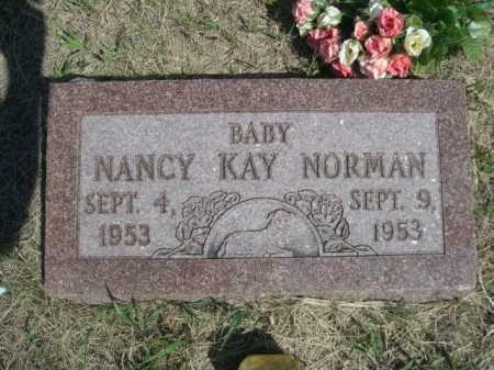 NORMAN, NANCY KAY - Dawes County, Nebraska | NANCY KAY NORMAN - Nebraska Gravestone Photos