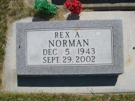NORMAN, REX A. - Dawes County, Nebraska | REX A. NORMAN - Nebraska Gravestone Photos