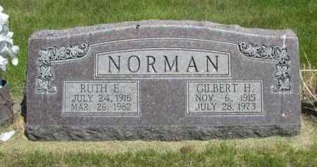 NORMAN, RUTH E. - Dawes County, Nebraska | RUTH E. NORMAN - Nebraska Gravestone Photos