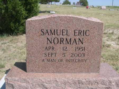 NORMAN, SAMUEL ERIC - Dawes County, Nebraska | SAMUEL ERIC NORMAN - Nebraska Gravestone Photos
