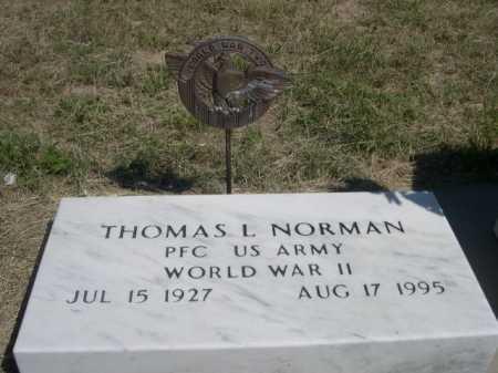 NORMAN, THOMAS L. - Dawes County, Nebraska | THOMAS L. NORMAN - Nebraska Gravestone Photos