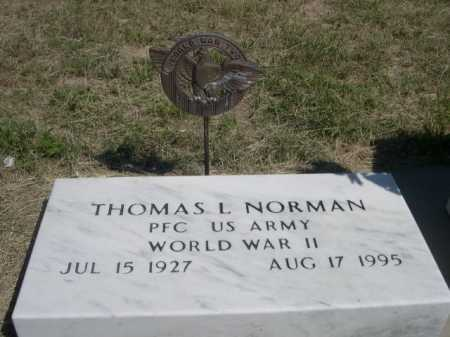 NORMAN, THOMAS L. - Dawes County, Nebraska | THOMAS L. NORMAN - Nebraska Gravestone Photos