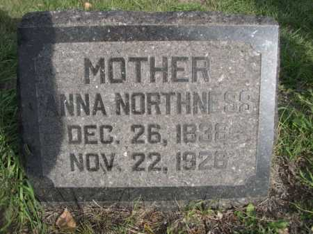 NORTHNESS, ANNA - Dawes County, Nebraska | ANNA NORTHNESS - Nebraska Gravestone Photos