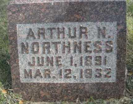 NORTHNESS, ARTHUR N. - Dawes County, Nebraska | ARTHUR N. NORTHNESS - Nebraska Gravestone Photos