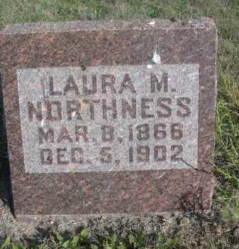 NORTHNESS, LAURA M. - Dawes County, Nebraska | LAURA M. NORTHNESS - Nebraska Gravestone Photos