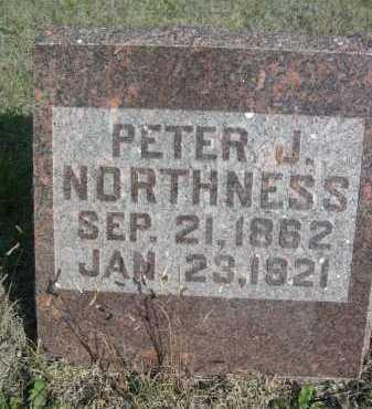 NORTHNESS, PETER J. - Dawes County, Nebraska | PETER J. NORTHNESS - Nebraska Gravestone Photos