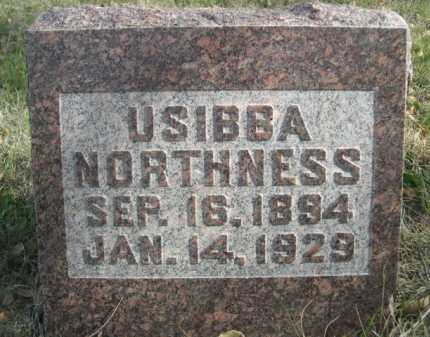NORTHNESS, USIBBA - Dawes County, Nebraska   USIBBA NORTHNESS - Nebraska Gravestone Photos