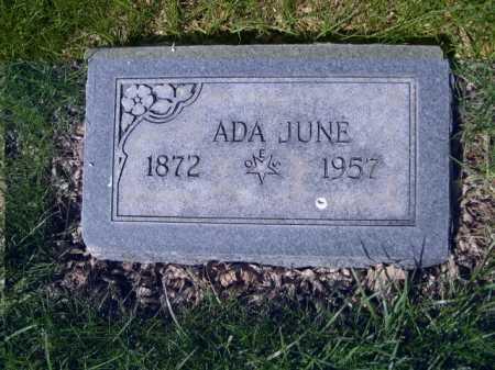 NORTHROP, ADA JUNE - Dawes County, Nebraska | ADA JUNE NORTHROP - Nebraska Gravestone Photos