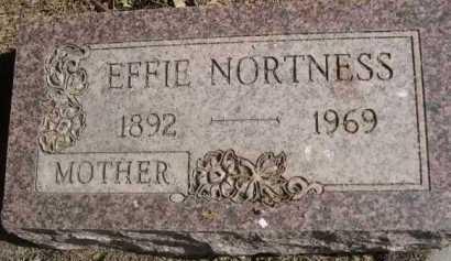 NORTNESS, EFFIE - Dawes County, Nebraska | EFFIE NORTNESS - Nebraska Gravestone Photos