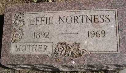NORTNESS, EFFIE - Dawes County, Nebraska | EFFIE NORTNESS - Nebraska Gravestone Photos