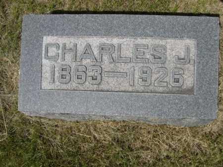 NORTON, CHARLES J. - Dawes County, Nebraska | CHARLES J. NORTON - Nebraska Gravestone Photos