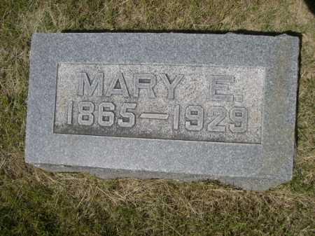 NORTON, MARY E. - Dawes County, Nebraska   MARY E. NORTON - Nebraska Gravestone Photos