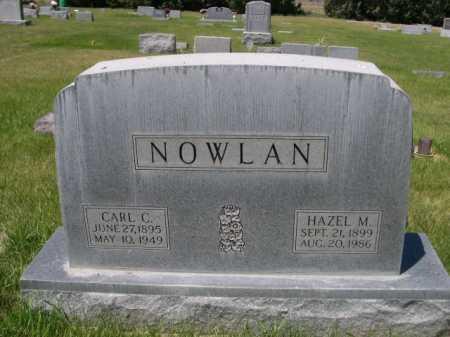 NOWLAN, CARL C. - Dawes County, Nebraska | CARL C. NOWLAN - Nebraska Gravestone Photos