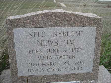NEWBLOM, NELS - Dawes County, Nebraska | NELS NEWBLOM - Nebraska Gravestone Photos