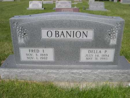 O'BANION, DELLA P. - Dawes County, Nebraska   DELLA P. O'BANION - Nebraska Gravestone Photos