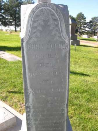 O'BRIEN, CHRISTOPHER - Dawes County, Nebraska | CHRISTOPHER O'BRIEN - Nebraska Gravestone Photos