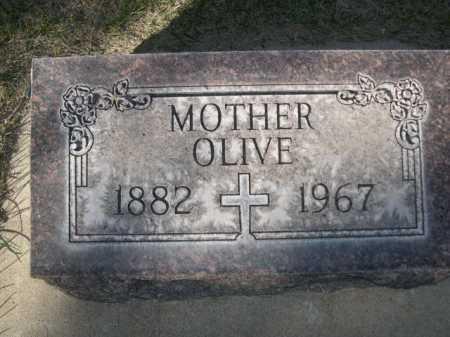 O'CONNELL, OLIVE - Dawes County, Nebraska | OLIVE O'CONNELL - Nebraska Gravestone Photos