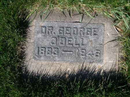 O'DELL, DR. GEORGE - Dawes County, Nebraska   DR. GEORGE O'DELL - Nebraska Gravestone Photos