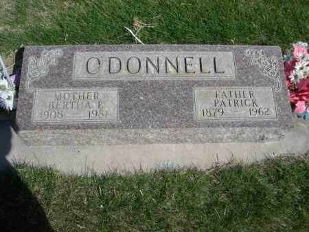 O'DONNELL, BERTHA P. - Dawes County, Nebraska | BERTHA P. O'DONNELL - Nebraska Gravestone Photos