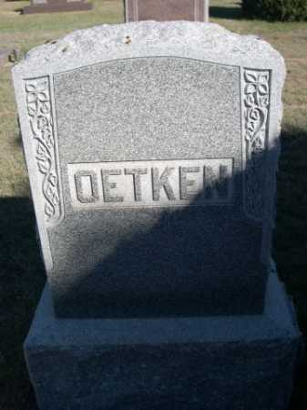 OETKEN, FAMILY - Dawes County, Nebraska | FAMILY OETKEN - Nebraska Gravestone Photos