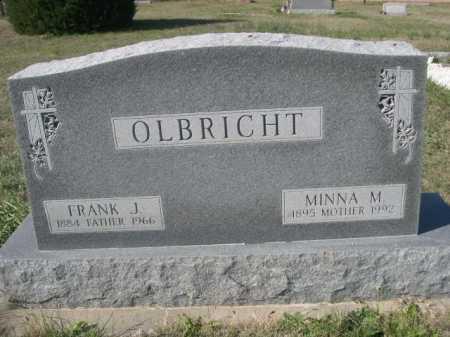 OLBRICHT, MINNA M. - Dawes County, Nebraska | MINNA M. OLBRICHT - Nebraska Gravestone Photos