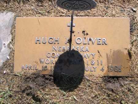 OLIVER, HUGH A. - Dawes County, Nebraska | HUGH A. OLIVER - Nebraska Gravestone Photos