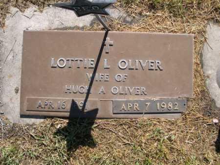 OLIVER, LOTTIE L. - Dawes County, Nebraska | LOTTIE L. OLIVER - Nebraska Gravestone Photos