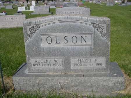 OLSON, HAZEL F. - Dawes County, Nebraska | HAZEL F. OLSON - Nebraska Gravestone Photos