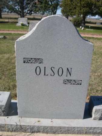 OLSON, FAMILY - Dawes County, Nebraska | FAMILY OLSON - Nebraska Gravestone Photos