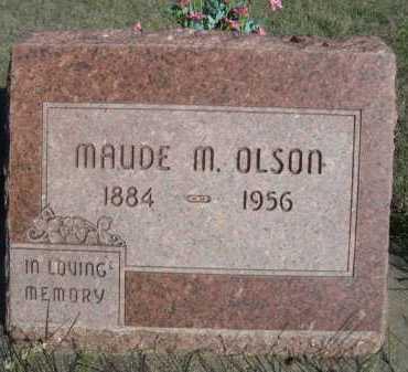 OLSON, MAUDE M. - Dawes County, Nebraska | MAUDE M. OLSON - Nebraska Gravestone Photos