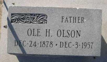 OLSON, OLE H. - Dawes County, Nebraska | OLE H. OLSON - Nebraska Gravestone Photos