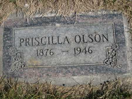 OLSON, PRISCILLA - Dawes County, Nebraska | PRISCILLA OLSON - Nebraska Gravestone Photos