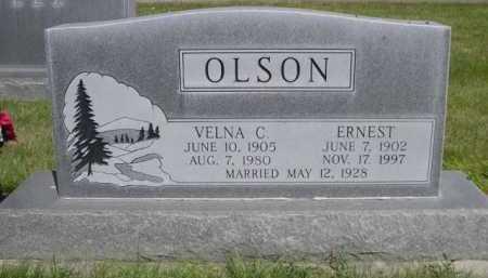 OLSON, ERNEST - Dawes County, Nebraska | ERNEST OLSON - Nebraska Gravestone Photos