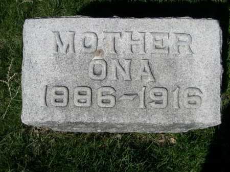 SATTERLEE, ONA - Dawes County, Nebraska   ONA SATTERLEE - Nebraska Gravestone Photos